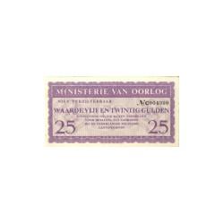 Ministerie van Oorlog - 25 gulden