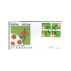 2014 Sint Maarten FDC   Voetbal Fifa 2014