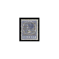 1934-1938 Nederland Dienst Opdruk COUR PERMANENTE DE JUSTICE INTERNATIONALE in goud op zegels van de uitgifte 1926-1935, 1926-19
