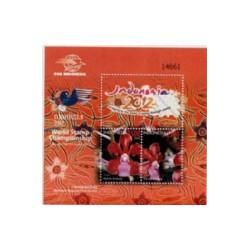 2012 Indonesië Blok | Wereldpostzegel kampioenschap