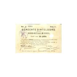Dinteloord 1 gulden 1914