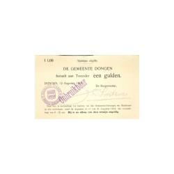 Dongen 1 gulden 1914