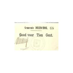 Dreischor 10 cent 1914