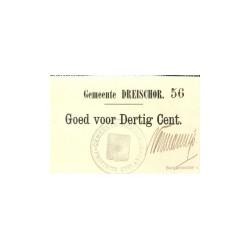 Dreischor 30 cent 1914