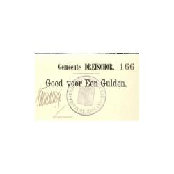 Dreischor 1 gulden 1914