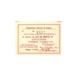 Enschede 25 cent 1914