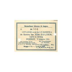 Enschede 1 gulden 1914