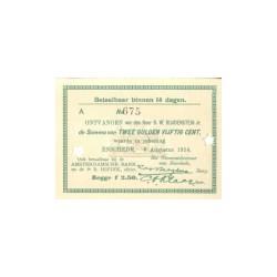 Enschede 2½ gulden 1914
