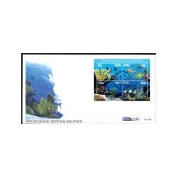 2017 Aruba FDC | Onderwater panorama schildpad