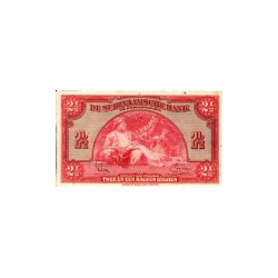 Suriname 2½ gulden 1940