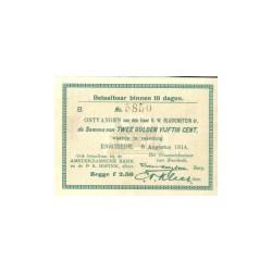 Enschede 2,5 gulden 1914