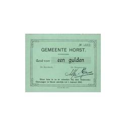 Horst 1 gulden 1914