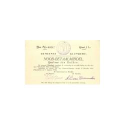Klundert 1 gulden 1914