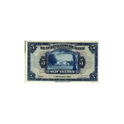 Suriname 5 gulden 1942