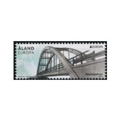 2018 Aland postzegel   Bruggen