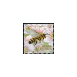 2018 Aland postzegel   Bijen