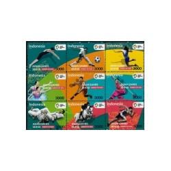 2018 Indonesië postzegels | 18de Asian games Jakarta Palembang