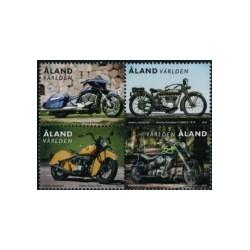 2018 Aland postzegels   Motoren uit pb