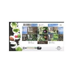 2018 Nederland FDC | Mijn groentetuin