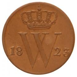 Koninkrijksmunten Nederland ½ cent 1823 B