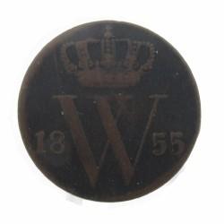 Koninkrijksmunten Nederland ½ cent 1855