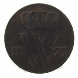 Koninkrijksmunten Nederland ½ cent 1873