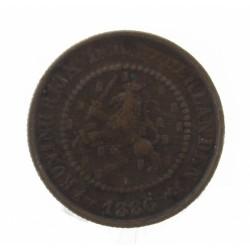 Koninkrijksmunten Nederland ½ cent 1886