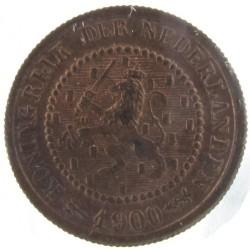 Koninkrijksmunten Nederland ½ cent 1900
