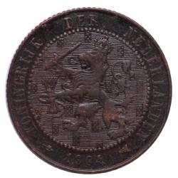Koninkrijksmunten Nederland 2½ cent 1904