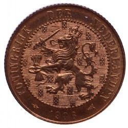 Koninkrijksmunten Nederland 2½ cent 1906