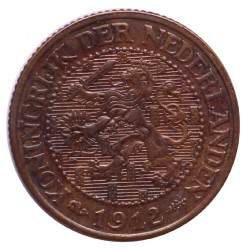 Koninkrijksmunten Nederland 2½ cent 1912