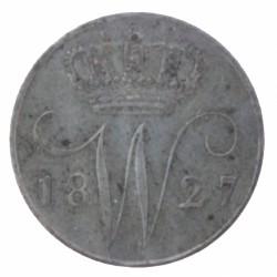 Koninkrijksmunten Nederland 5 cent 1827 U