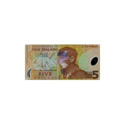 New Zealand5Dollars (plastic)ND 2004