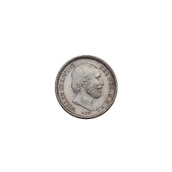 Koninkrijksmunten Nederland 10 cent 1874 Klaver