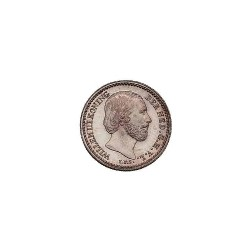 Koninkrijksmunten Nederland 10 cent 1884