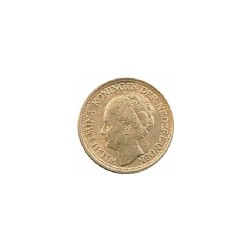 Koninkrijksmunten Nederland 10 cent 1943 PP
