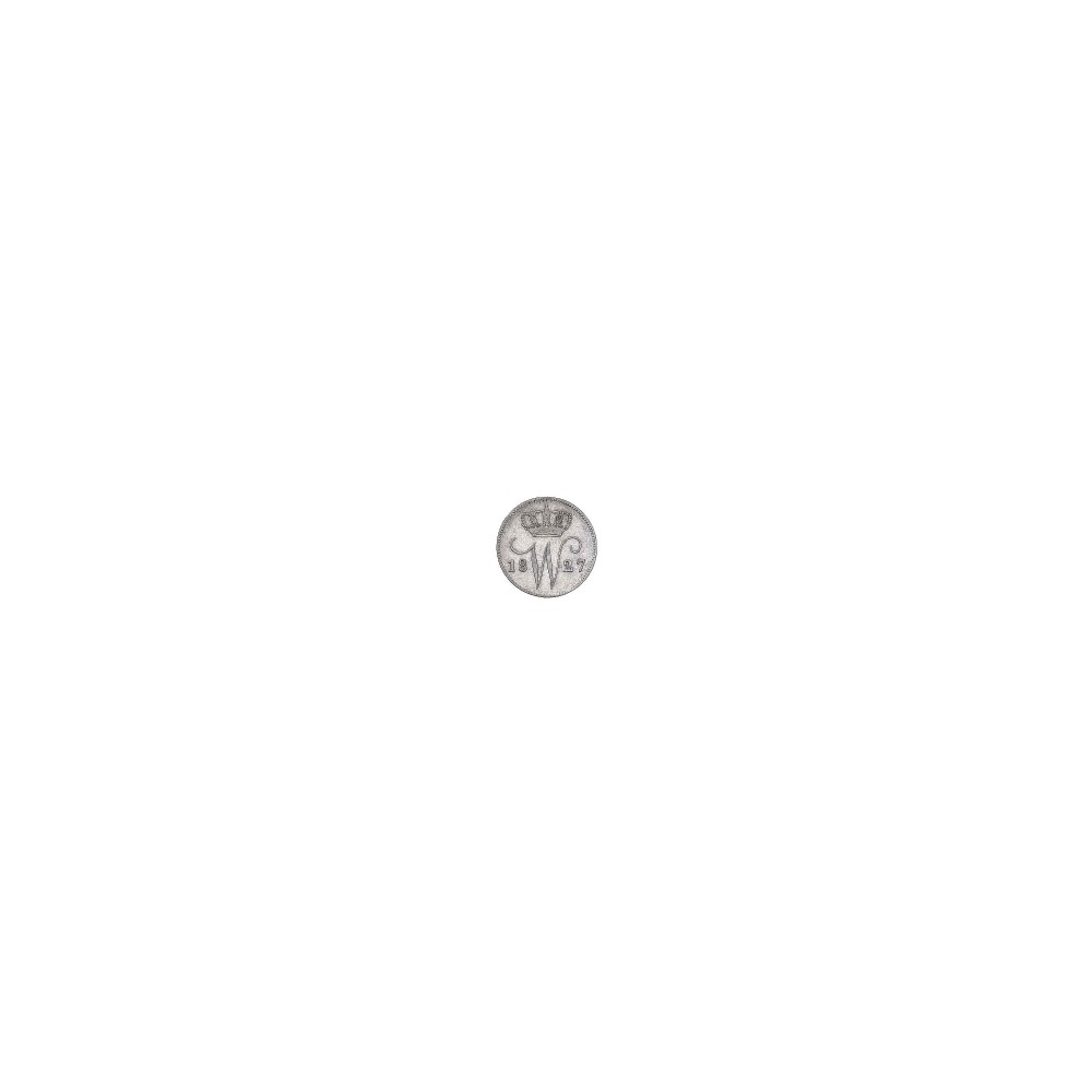 Koninkrijksmunten Nederland 25 cent 1827 B