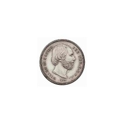 Koninkrijksmunten Nederland 25 cent 1850