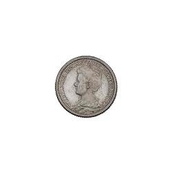 Koninkrijksmunten Nederland 25 cent 1910