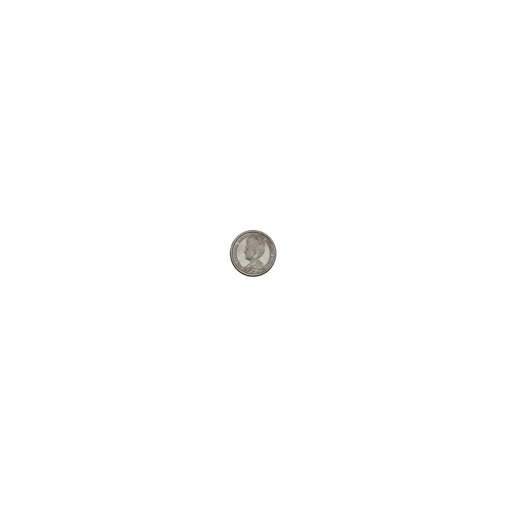 Koninkrijksmunten Nederland 25 cent 1918