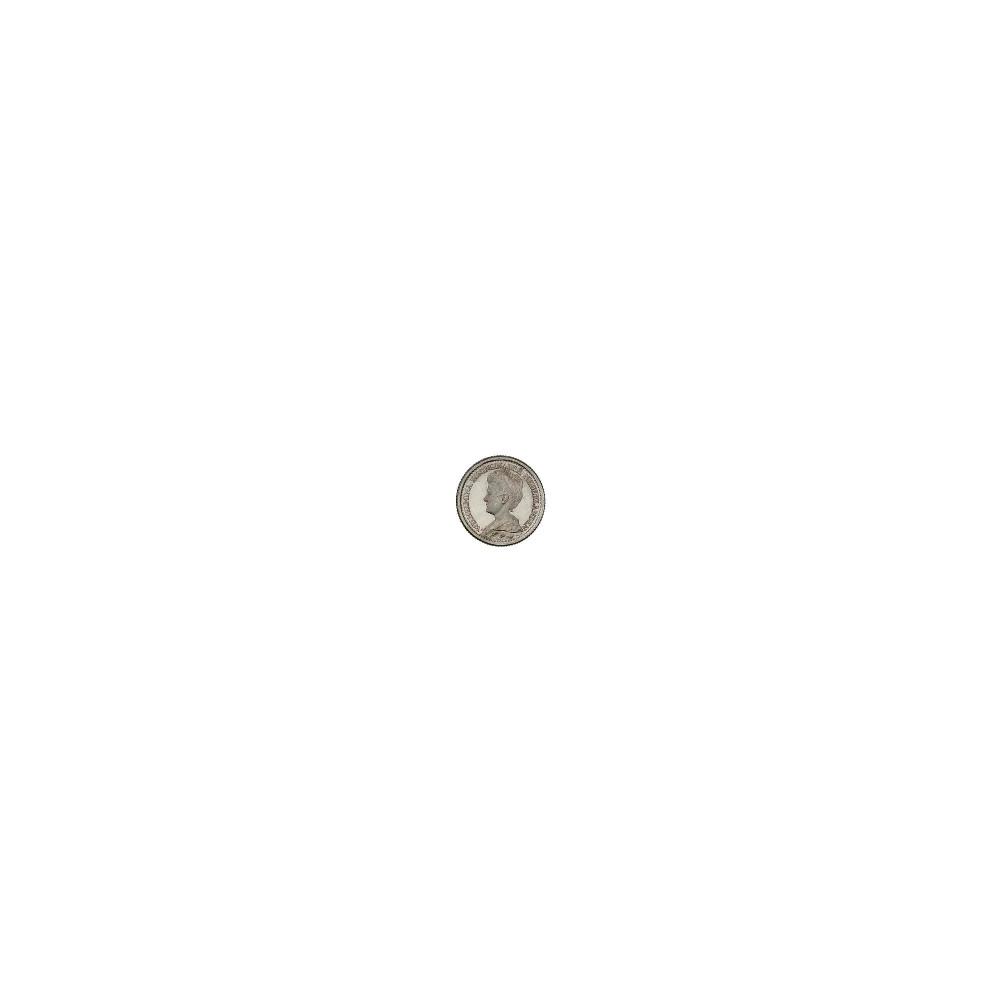 Koninkrijksmunten Nederland 25 cent 1919