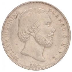 Koninkrijksmunten Nederland ½ gulden 1859