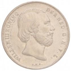Koninkrijksmunten Nederland ½ gulden 1860