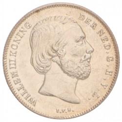 Koninkrijksmunten Nederland ½ gulden 1862