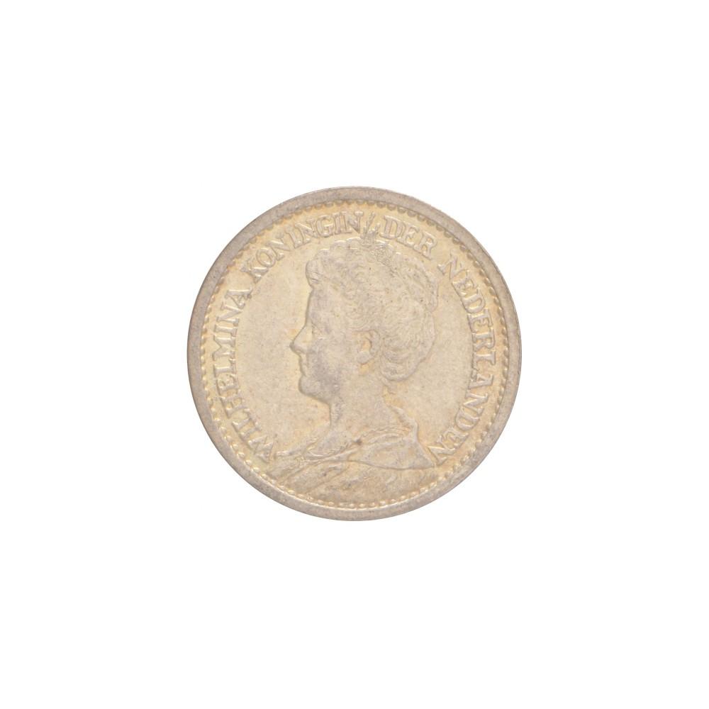 Koninkrijksmunten Nederland ½ gulden 1919