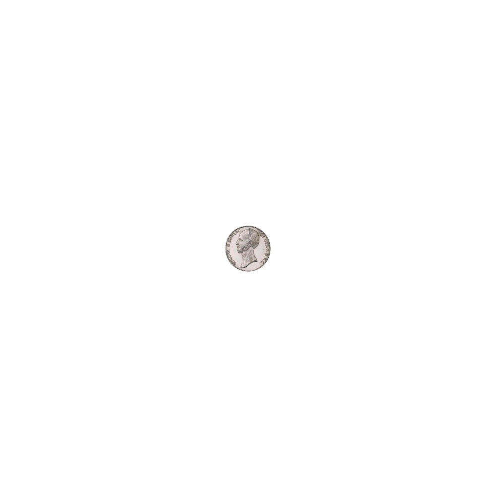 Koninkrijksmunten Nederland 2½ gulden 1843