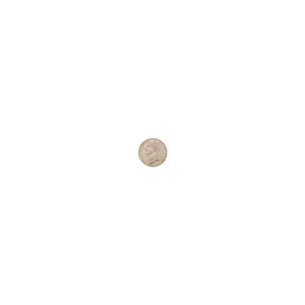 Koninkrijksmunten Nederland 2½ gulden 1845 streepje