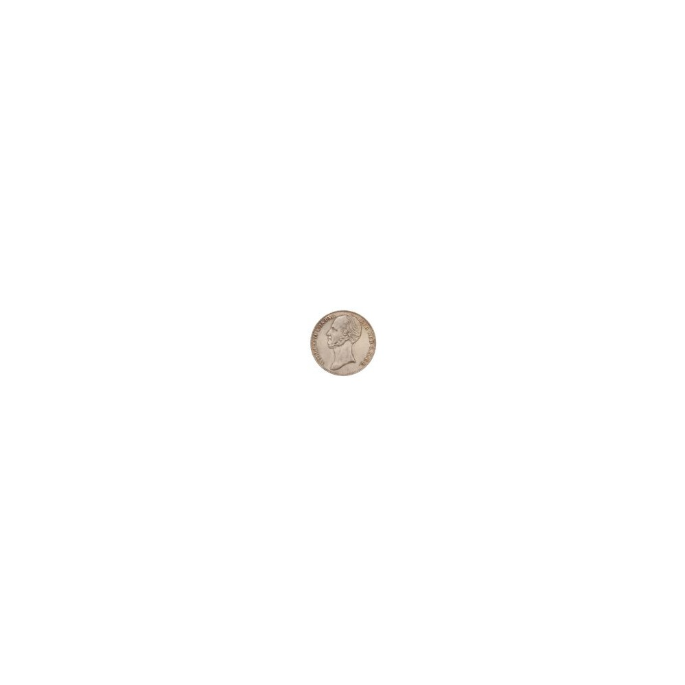 Koninkrijksmunten Nederland 2½ gulden 1845