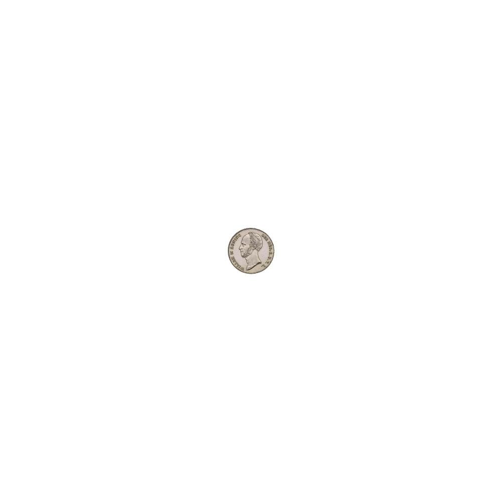 Koninkrijksmunten Nederland 2½ gulden 1847