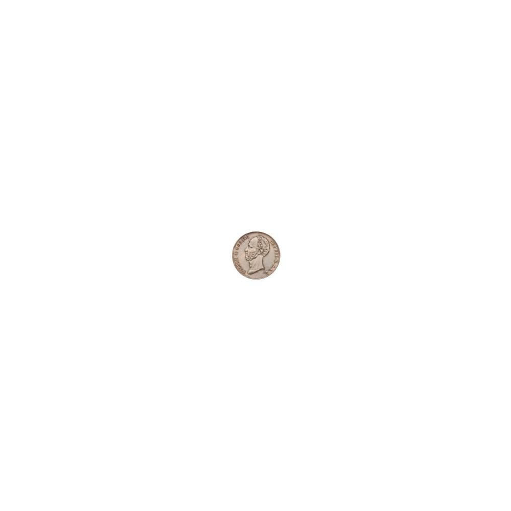 Koninkrijksmunten Nederland 2½ gulden 1848